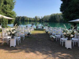 matrimonio cerimonia estiva eventi Domitilla Baldeschi flower designer laboratorio creativo milano